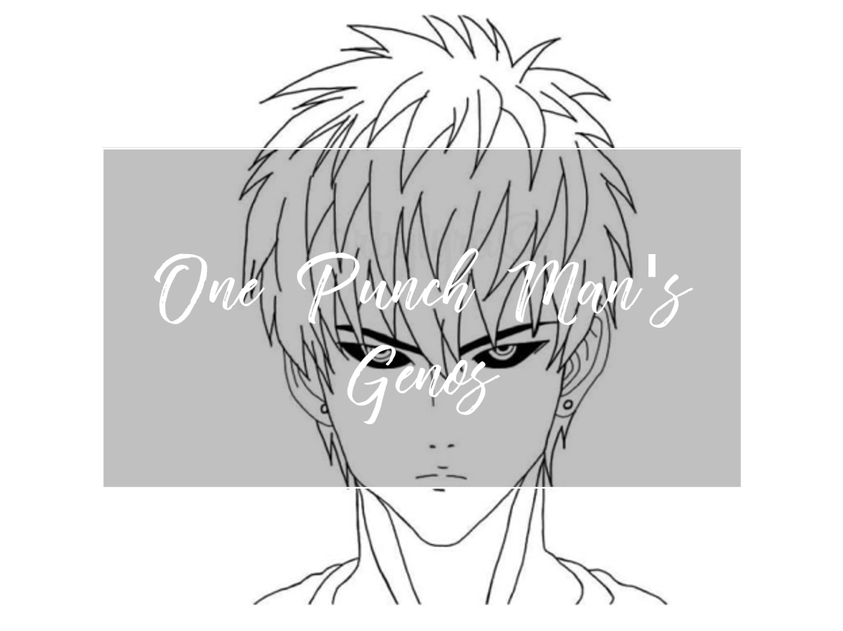 One Punch Man's Genos - Line Art