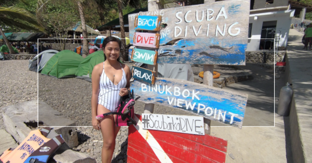 Binukbok View Point Fun Dive!